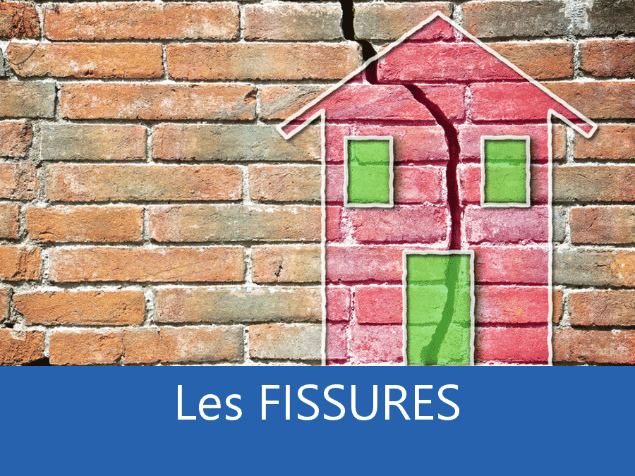 fissures, fissure maison, apparition de fissures batiment, problème structure bâtiment,